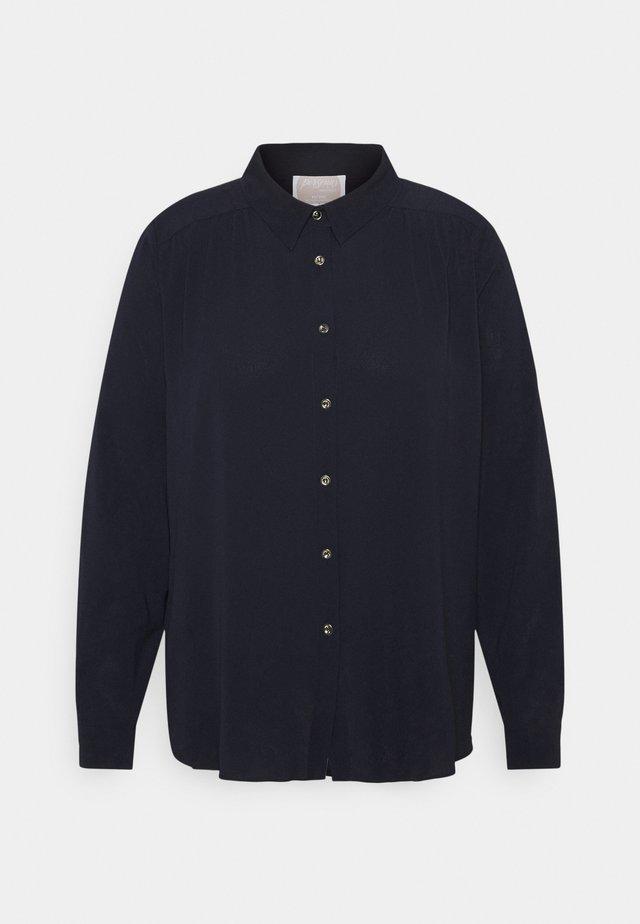 BERENICE - Button-down blouse - blu marino