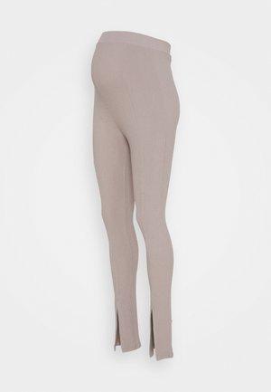 MLLALA HIGH WAIST LEGGINS - Kalhoty - silver mink