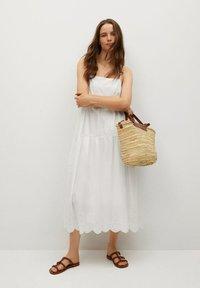 Mango - CECI - Vestido informal - white - 0