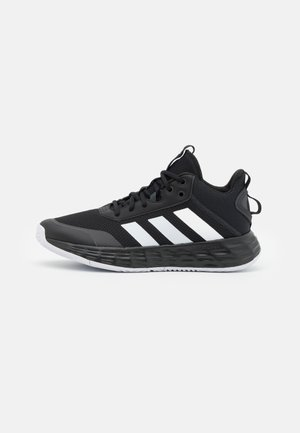 OWN THE GAME 2.0 CONTEMPORARY LIGHTMOTION - Basketball shoes - core black/footwear white/carbon