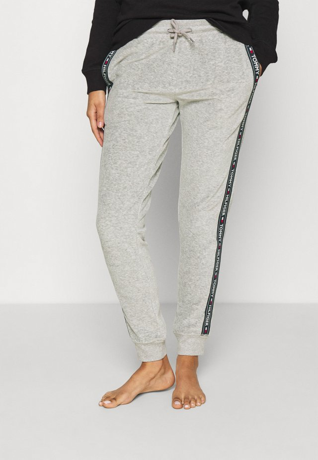 AUTHENTIC TEXTURE TRACK PANT - Bas de pyjama - mid grey heather