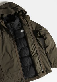 The North Face - W MOUNTAIN LIGHT FL TRICLIMATE JACKET - Sports jacket - new taupe green/tnf black - 3