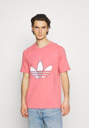 TRICOL TEE UNISEX - Print T-shirt - hazy rose