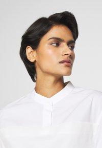 3.1 Phillip Lim - MULTIMEDIA DRESS PLEATED  - Košilové šaty - white - 3