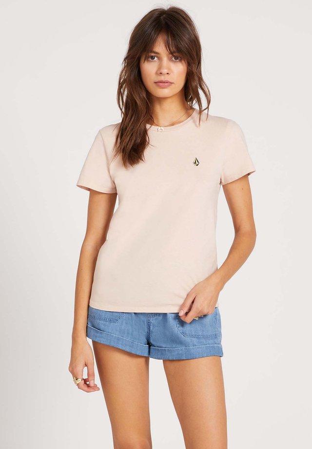 STOKED ON STONE - T-Shirt print - hazey_pink