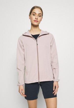 DAYBREAK JACKET - Soft shell jacket - powder pink