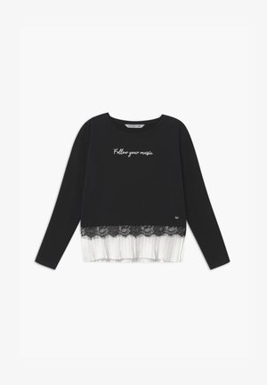 YEVA - Long sleeved top - black