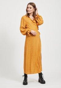 Object - Maxi dress - brown - 0