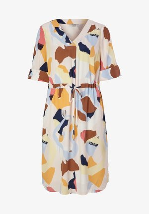 Day dress - blush abstract geo