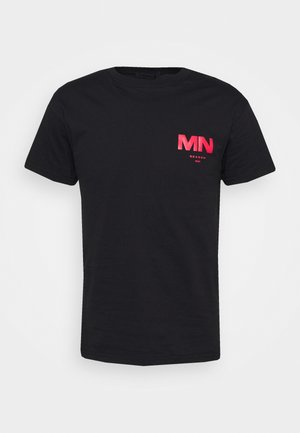 VINTAGE CAR REGULAR  - T-shirt imprimé - black