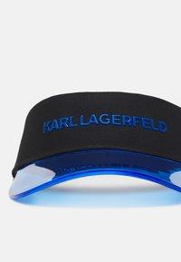 KARL LAGERFELD - BOX LOGO VISOR - Cap - blue - 4