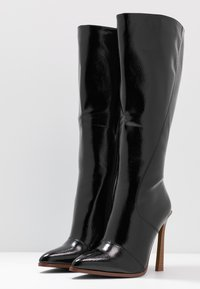 RAID Wide Fit - WIDE FIT ARIA - High heeled boots - black - 4