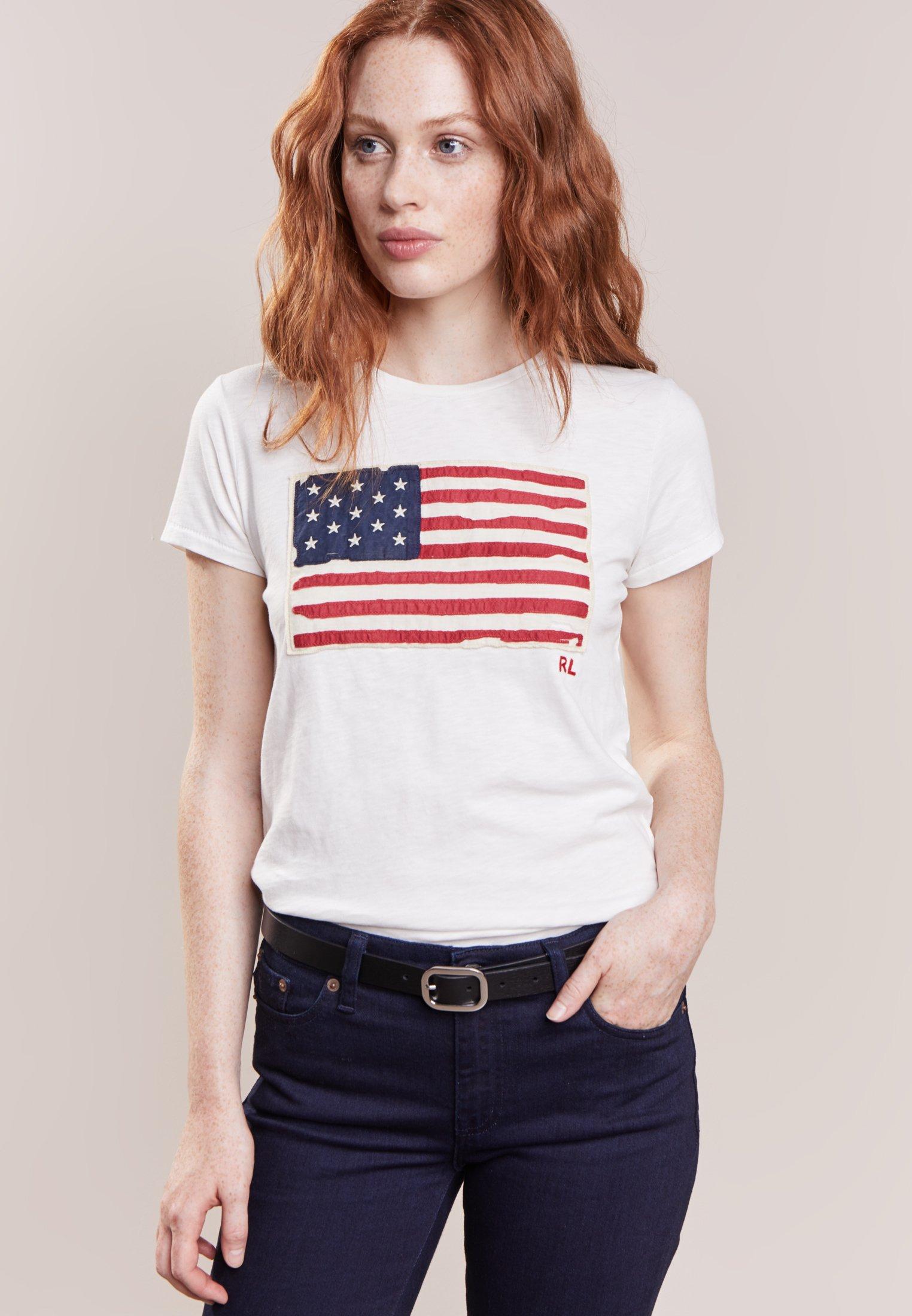 Damen FLAG - T-Shirt print