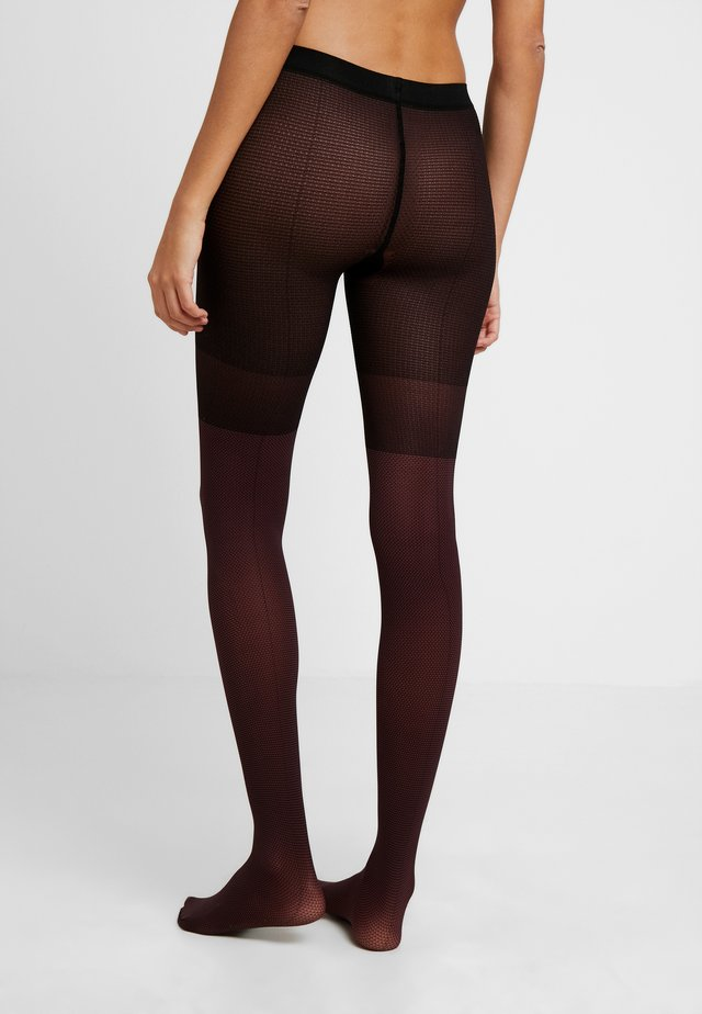 ESSENTIAL 80 DEN  - Tights - pinot noir