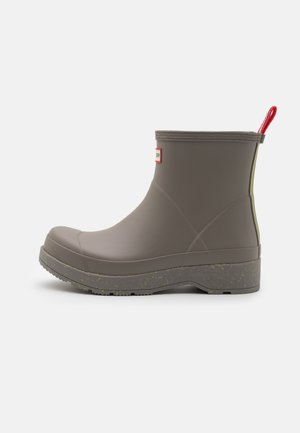 MENS PLAY SHORT SPECKLE SOLE - Wellies - grey heron/grasshopper