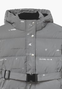 Calvin Klein Jeans - REFLECTIVE LOGO - Winter jacket - grey - 3