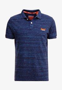 LABEL  - Polo shirt - navy fleck