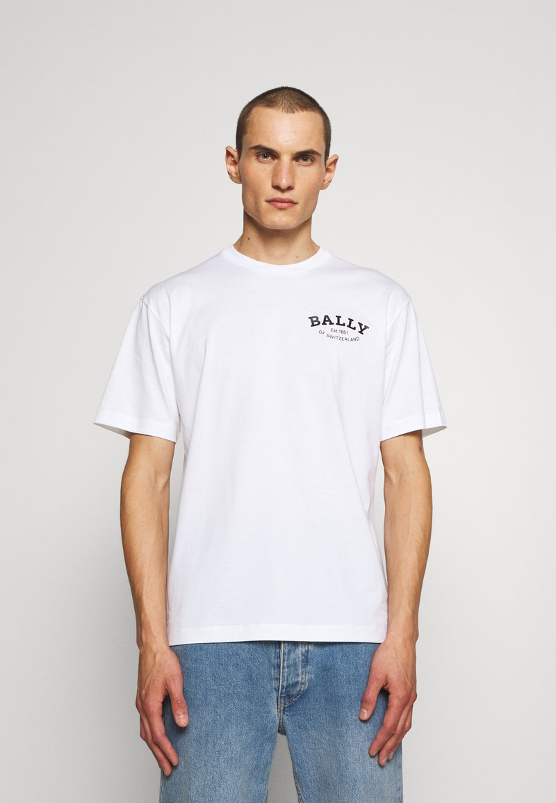 Bally - Triko spotiskem - white