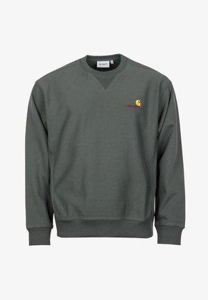 AMERICAN SCRIPT - Sweatshirt - dark teal