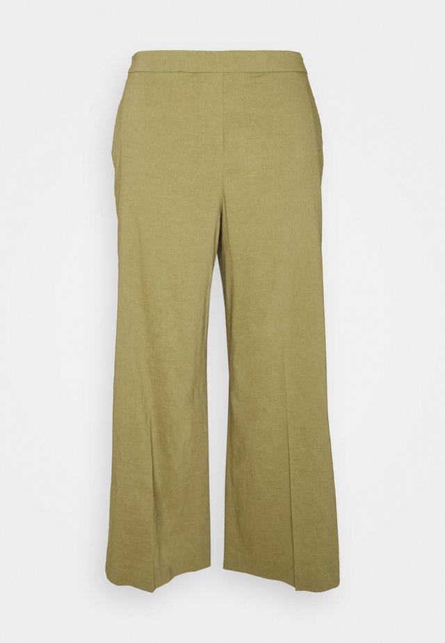 WIDE PULL ON - Pantalon classique - sprig