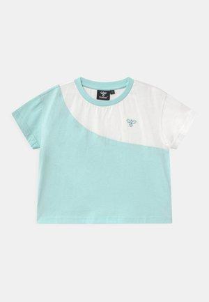 CROPPED - Print T-shirt - blue tint