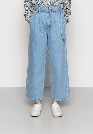 ALEAH - Straight leg jeans - light blue