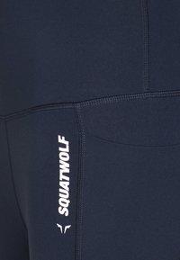SQUATWOLF - WE RISE HIGH WAISTED LEGGINGS - Leggings - navy blue - 6