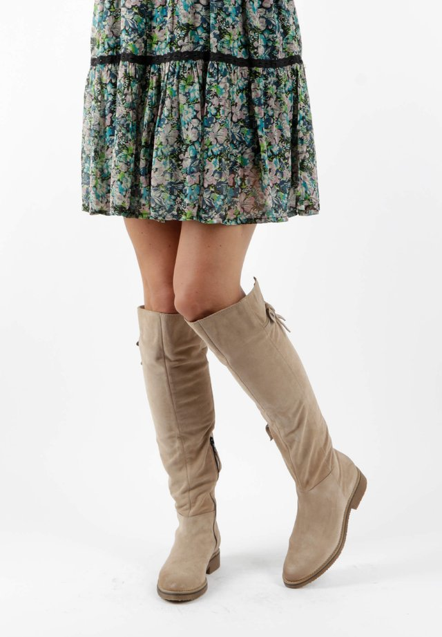Over-the-knee boots - opale