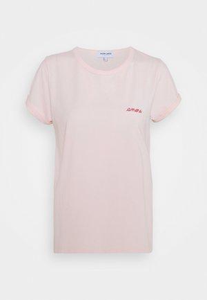 CLASSIC TEE AMORE - Triko spotiskem - english pink