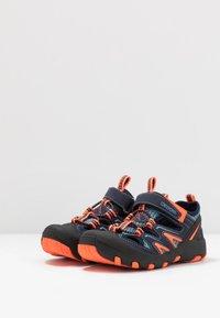 Kappa - REMINDER - Hiking shoes - navy/orange - 3