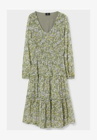 C&A - FIT & FLARE - Day dress - light green - 2