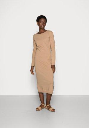 HYPER COTTON - Day dress - brown
