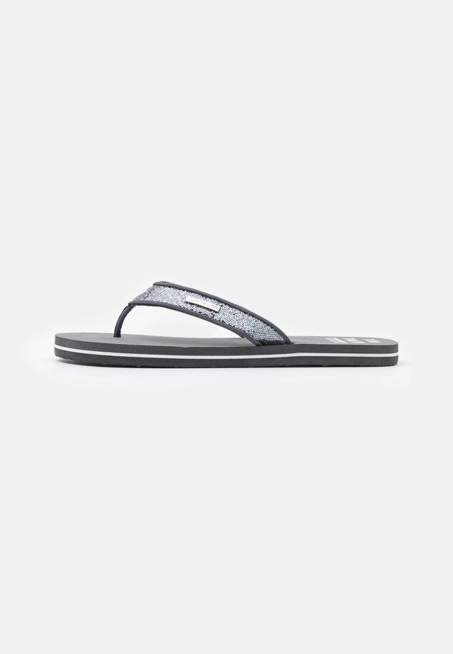 T-bar sandals - coal