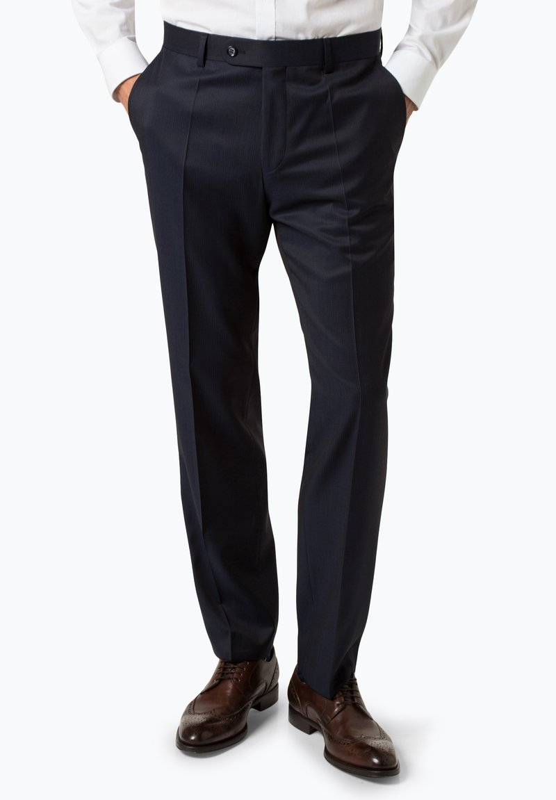 Roy Robson - Suit trousers - marine