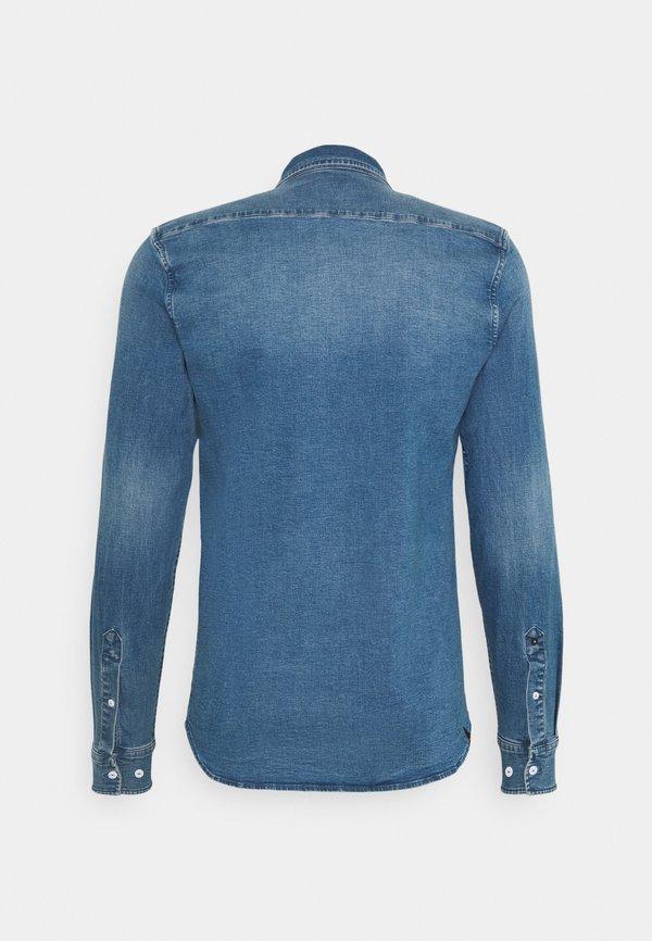 Denham BARKLEY - Koszula - blue/niebieski denim Odzież Męska ALQP