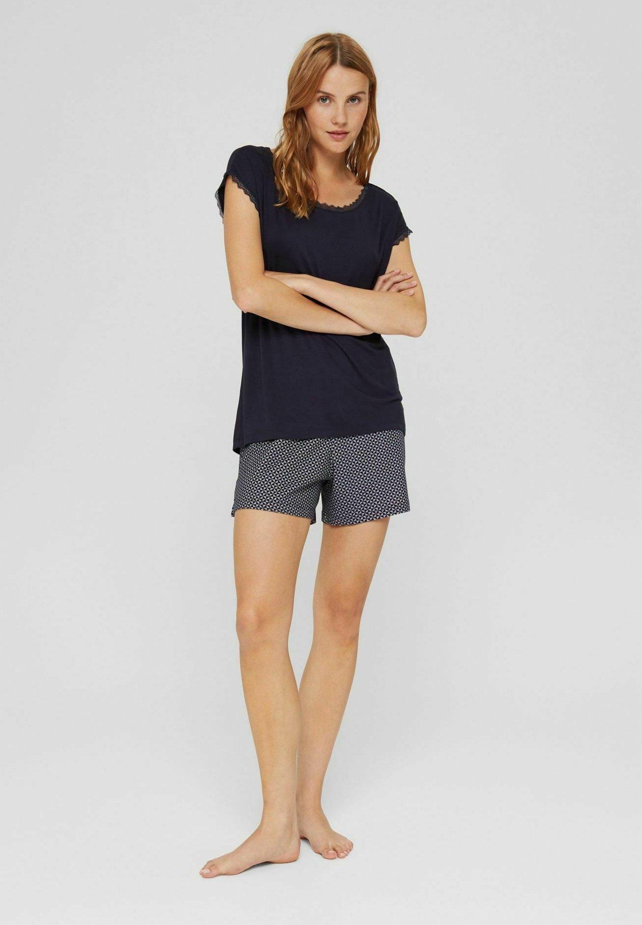 Damen PYJAMA - Nachtwäsche Shirt
