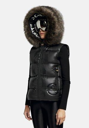 Waistcoat - black/black