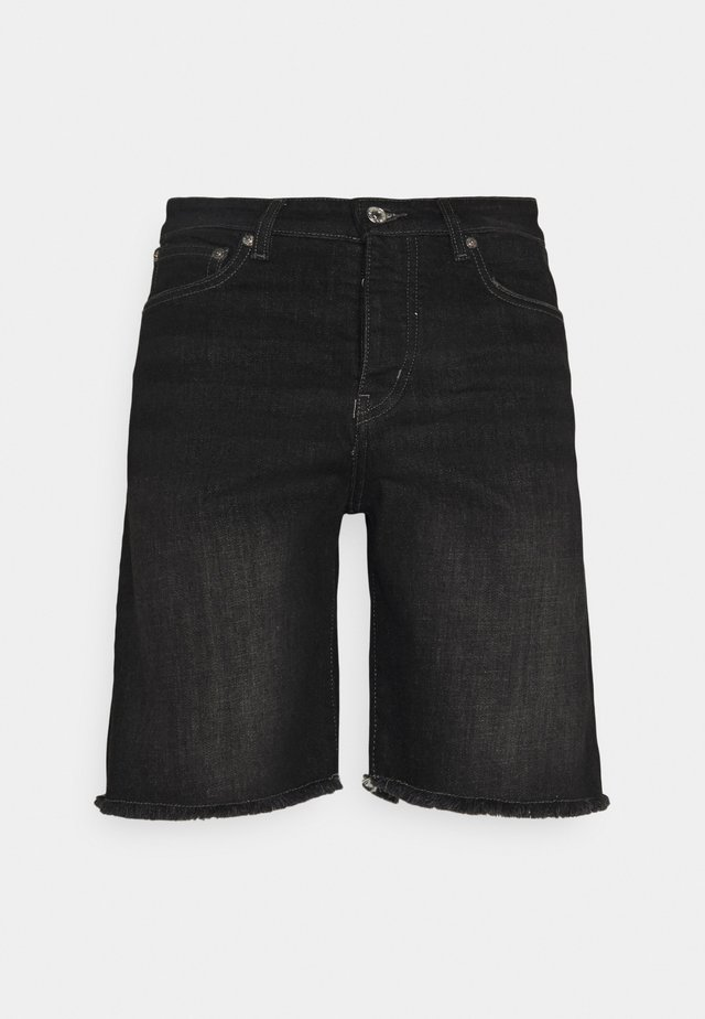 Shorts di jeans - anthracite