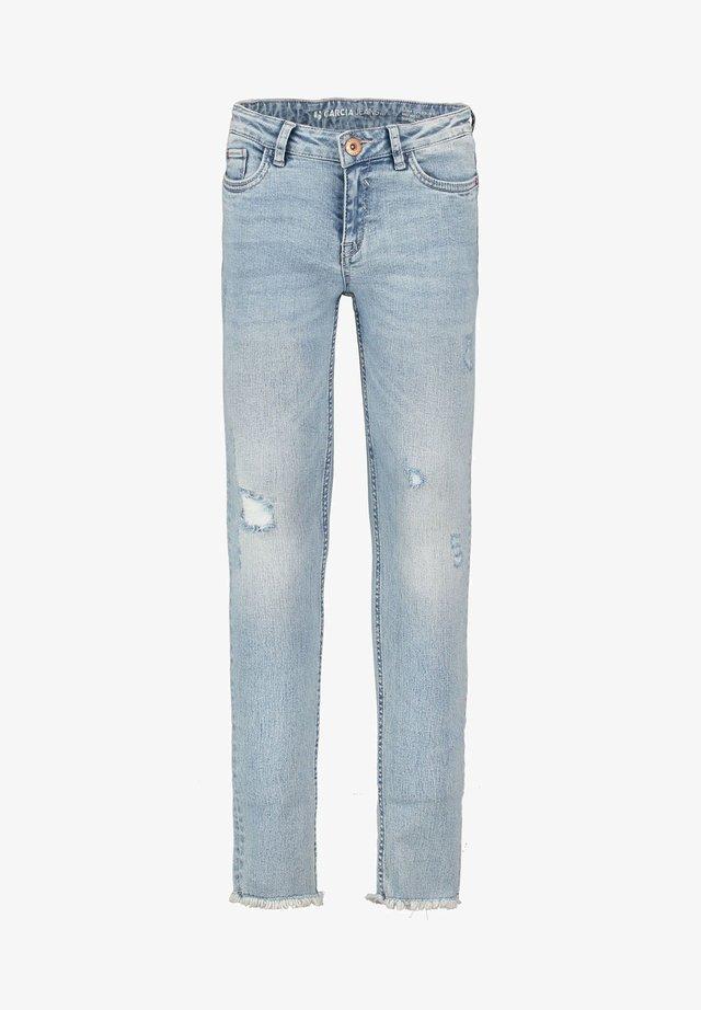 XANDRO - Jean slim - blue denim