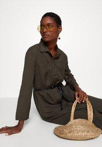 s.Oliver BLACK LABEL - Maxi dress - dark khaki green - 3