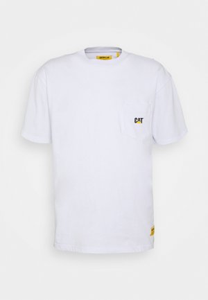 POCKET TEE - T-shirt med print - white