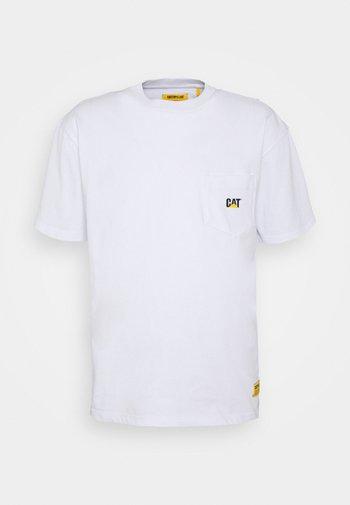 POCKET TEE - Camiseta estampada - white