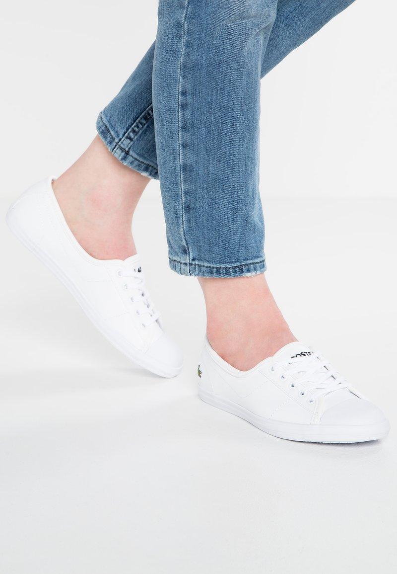 Lacoste - ZIANE - Sneakersy niskie - white