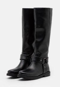 Koi Footwear - VEGAN PARALLAX - Støvler - black - 2