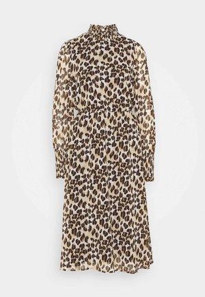 VMNANA CALF DRESS - Maxi dress - silver mink