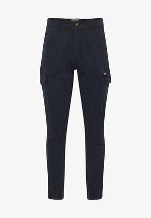 BHNAN PANTS NOOS - Cargo trousers - dark navy blue