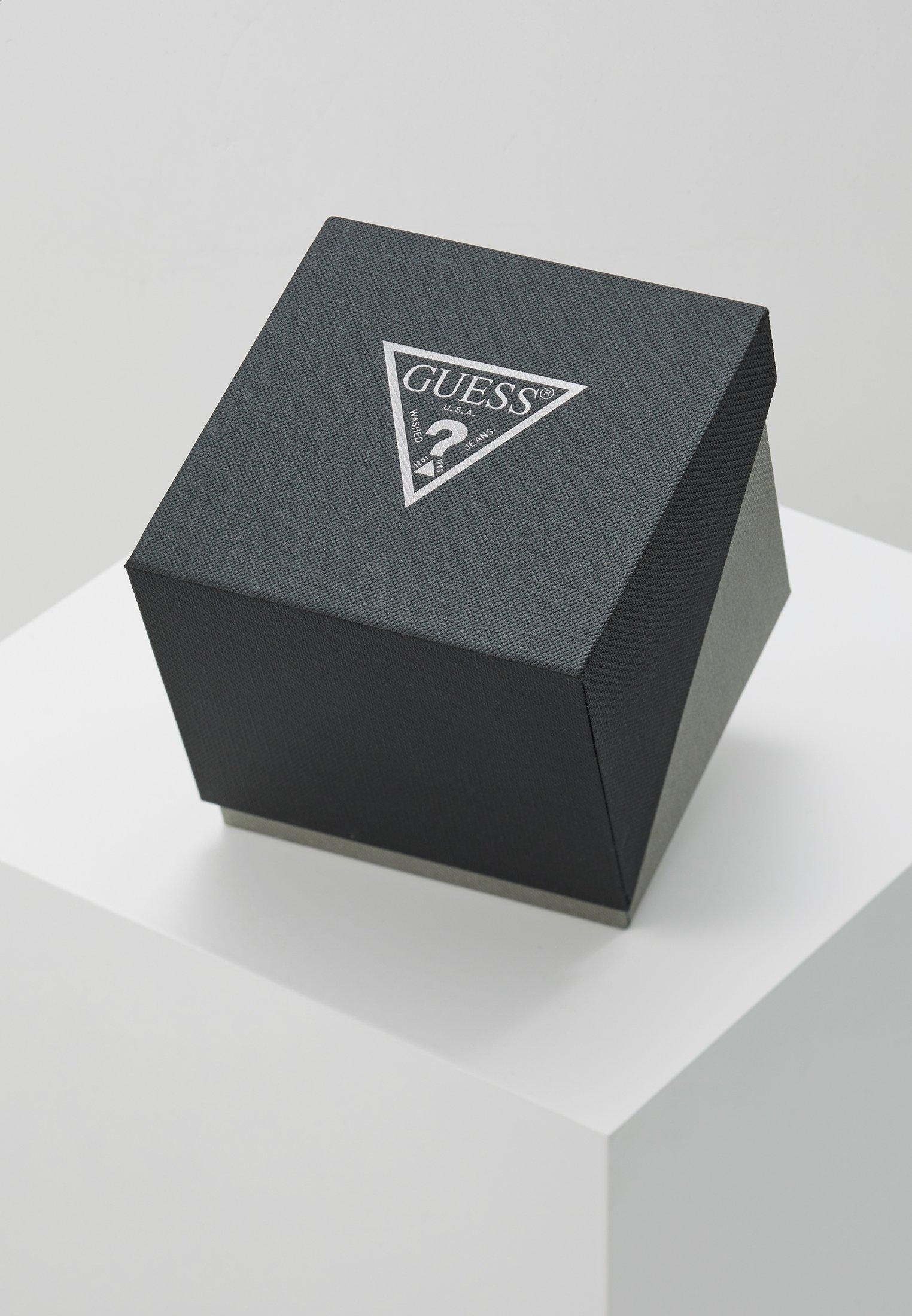 Guess Kronografklokke - silver-coloured/gold-coloured/black/sølv LexDpESAPoUQf97