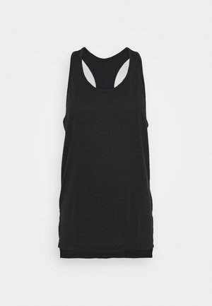 YOGA LAYER TANK - Treningsskjorter - black