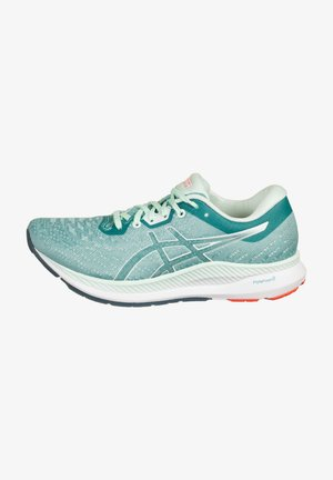 Neutral running shoes - techno cyan / bio mint