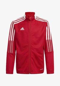 adidas Performance - IRO 21 TRACK TOP - Training jacket - red - 0